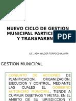 4 Gestion Municipal