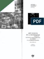 Arte Despue s de La Modernidad Nuevos Planteamientos en Torno a La Representacio n Brian Wallis 2001 PDF