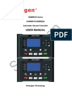 HGM96XX Series (HGM9610/HGM9620) Automatic Genset Controller USER MANUAL