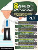 Ismael Plascencia Recomienda 8 Acciones Para Motivar a Los Empleados