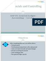 SAP FICO06 General Ledger Accounting Level 2