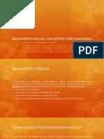 Diagnostico Social, Conceptos y Metodologias