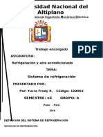 DEFINICIÓN DEREFRIGERACIÓN ..123