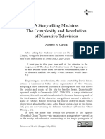 A Storytelling Machine. the Complexity and Revolution of Narrative Television (Between, 2016)