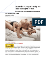 The Truth About the G-spot