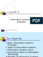 Ch01 Information Systems in Business