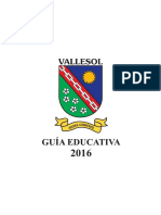 Guía Educativa Vallesol 2016