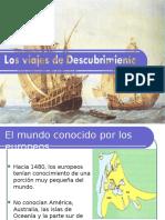 Viajes de Descubrimiento PPT HISTORIA