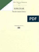 Sublunar de Salvador Gallardo Cabrera