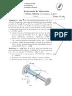 PEP 1 - Resistencia de Materiales (2014-2)