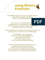 wyoming history pathfinder