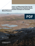 Geophysical, Geochemical, And Mineralogical Data From the Pebble Cu-Au-Mo Porphyry Deposit Area, Southwest Alaska