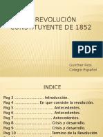 La Revolución Constituyente de 1852