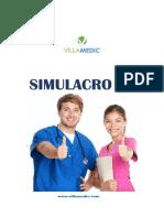 Examen Simulacro n 1 Curso Villamedic
