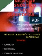 TÉCNICAS DE DIAGNÓSICO DE LOS GLAUCOMAS.pptx