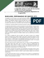 Baklawa, Empanadas de Queso, Etc