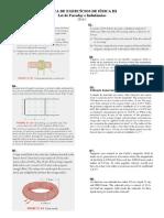 Lista Exercícios Física III - Faraday