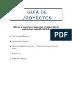 Guía de Proyectos 2016