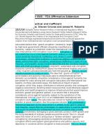 FDA Aff Addendum - Northwestern 2015 6WS