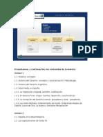 Programa y Esquema Conceptual HISTORIA DEL DERECHO(1)