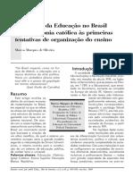 31-05- OLIVEIRA, AS ORIGENS DA EDUCAÇÃO NO BRASIL.pdf