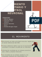 Movimiento Voluntario y Control Neuronal