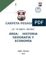 CARPETA PEDAGOGICA MARGOTH