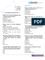 4 Page Current Affairs Jan.2016 to May 2016 Question Bank PDF