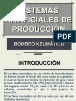Sistemas artificiales BOMBEO NEUMÁTICO