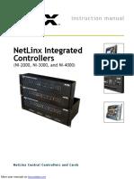 NetLinx Integrated Controllers NI-3000