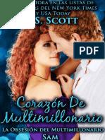 J.S. Scott - Serie La Obsesión Del Millonario 05 - Corazón de Multimillonario_Sam
