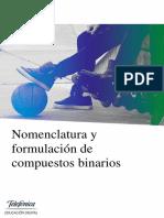 Nomenclatura y Formulación de Compuestos Binarios