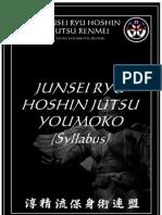 Junsei Ryu Hoshin Jutsu White Belt Syllabus