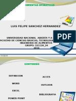 Luis Felipe Ofimaticas