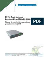m1700 Spa Controlador de Combustible Del Sitio Fsc3000