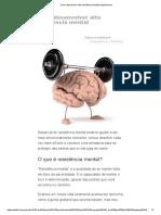 Como Desenvolver Alta Resistência Mental _ HypeScience