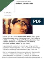 O Surpreendente Lado Ruim de Ser Inteligente - BBC Brasil