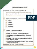 Evaluación Sociales 3° Unidad 1