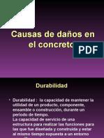 Presentacion Patologias Del Hormigon