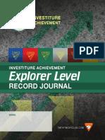 Explorer Record Journal