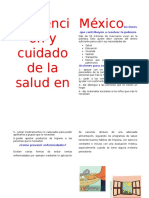 Prevención y Cuidado de La Salud en México