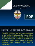 Curso de Evangelismo - Aula 02