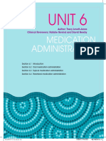 Safe Administrations of Medications (Draft Chapter)