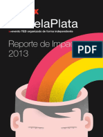 Reporte de Impacto - TEDxRíodelaPlata 2013(1)