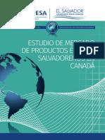 Estudio de Mercado de Productos Étnicos Salvadoreños en Canadá