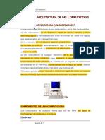 Modulo Arquitectura de Las Computadoras