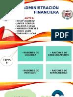 razones financiera