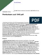 Pembukaan Uud 1945 PDF