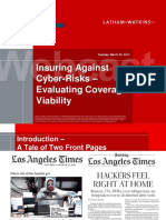 Insuring Against Cyber Risks (Latham and Watkins)