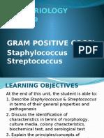 GRAM Positive Cocci